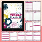 Yearly Printable Planner