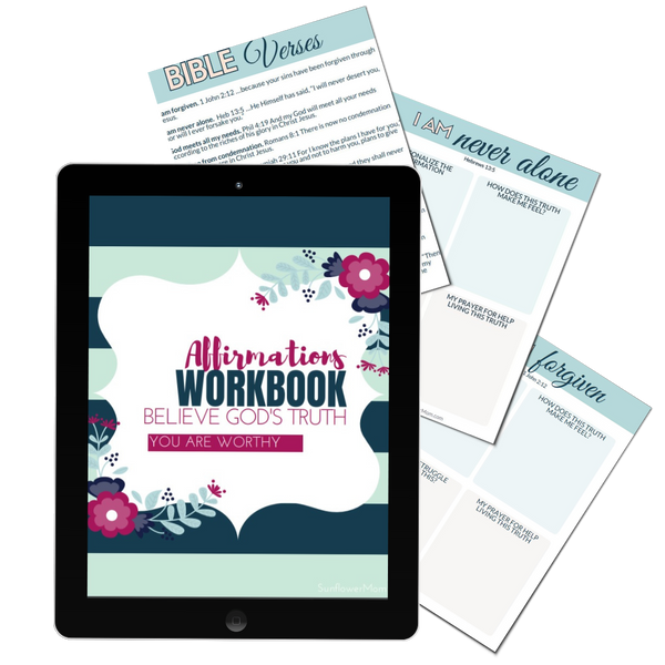 Affirmation Workbook - Who I Am in God