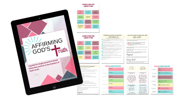Affirming God's Truth Workbook: Expose Lies and Claim God's Truth
