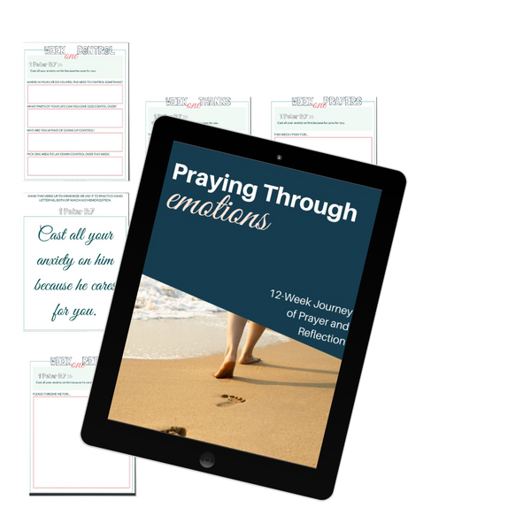 Pray Through Your Emotions Journal