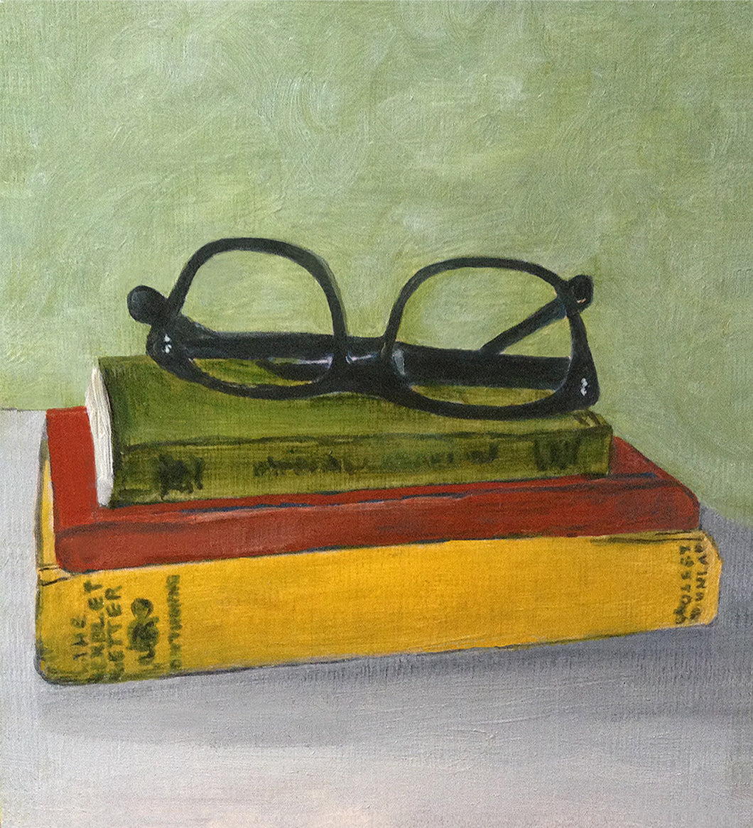 Books with Glasses