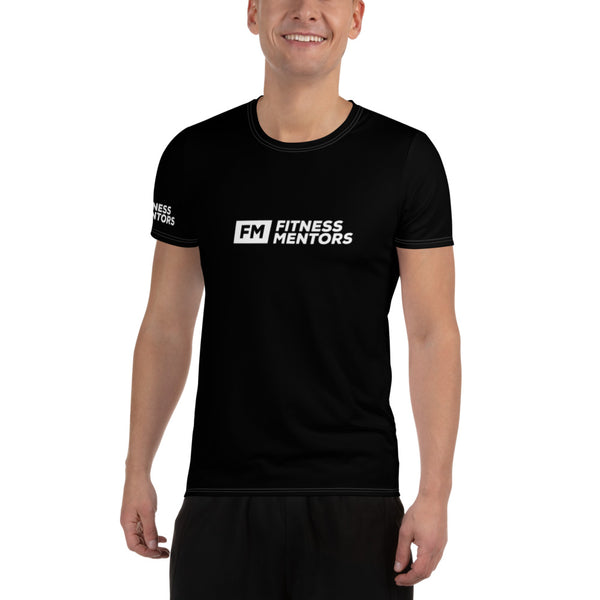 Fitness Mentors Jersey Style Men's Workout Shirt