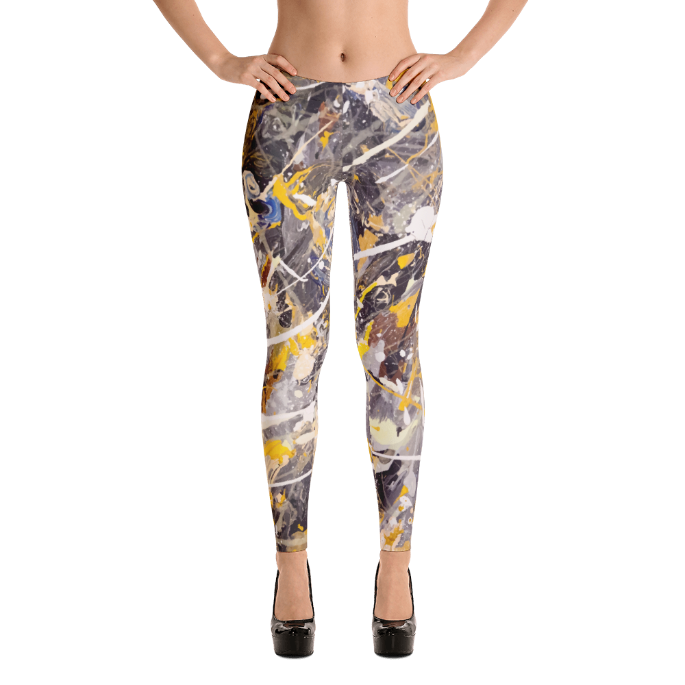 Lil Flip Signature Collection | Abstract  3-3 Womens Leggings