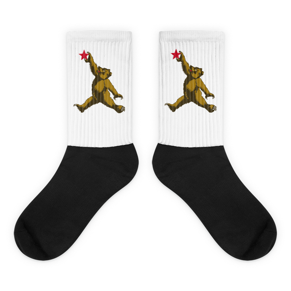 LAFL California Bear Flight Socks