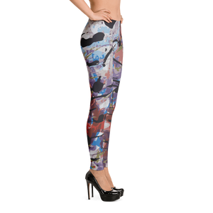 Lil Flip Signature Collection | Abstract  1-1 Womens Leggings