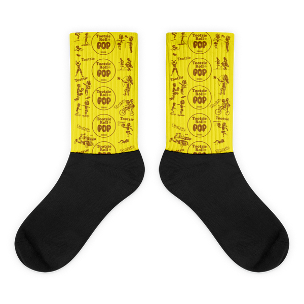 Tootsie Pop Banana Socks