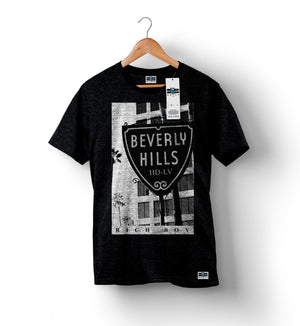 Beverly Hills - Black | Custom Shirts for Men