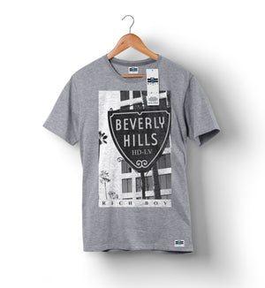 Beverly Hills - Heather | Custom Shirts for Men