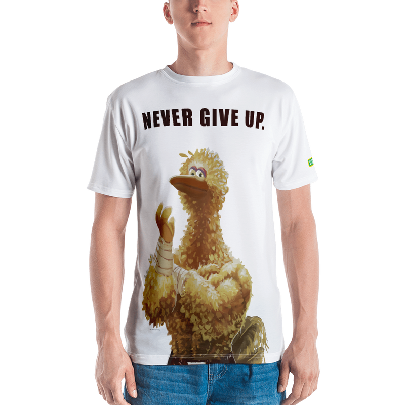 Sesame Street Activewear Big Bird - Never Give Up