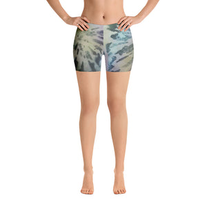Shop and Buy Tie-Dye Spandex Shorts