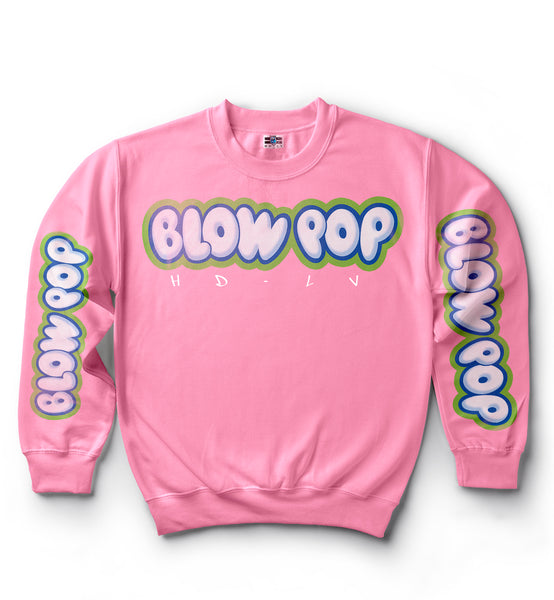 Charms Blow Pop Sweater - Watermelon Pink