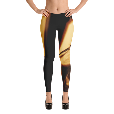 Champagne Bottle Leggings for Women
