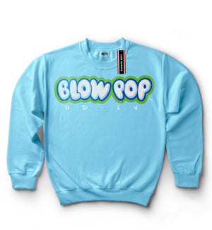 Charms Blow Pop Sweater - Baby Blue