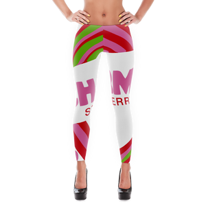 Charms Blow Pop Leggings for Women (Strawberry)