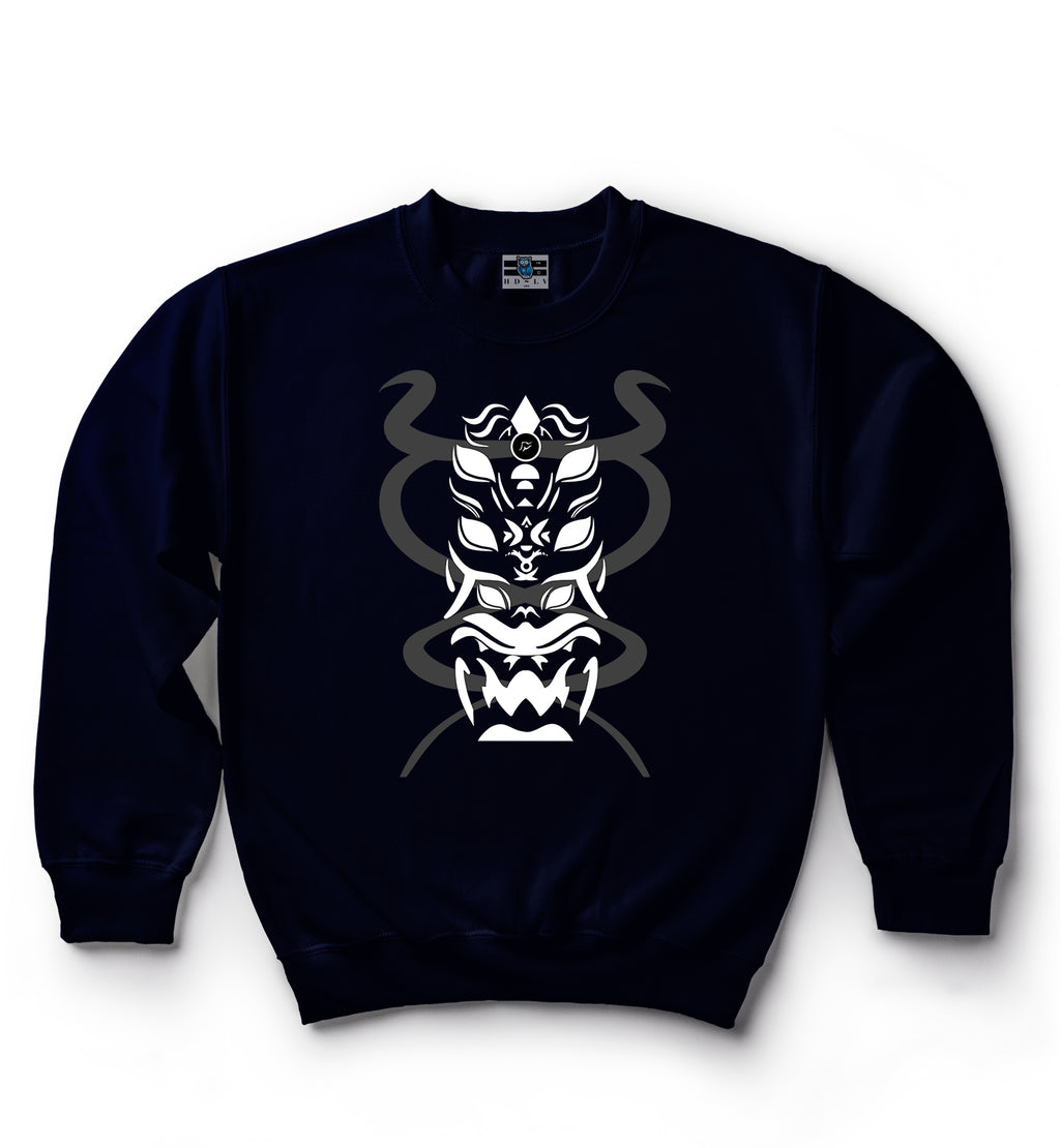 Dragon Snake | Black | Classic Crew Neck