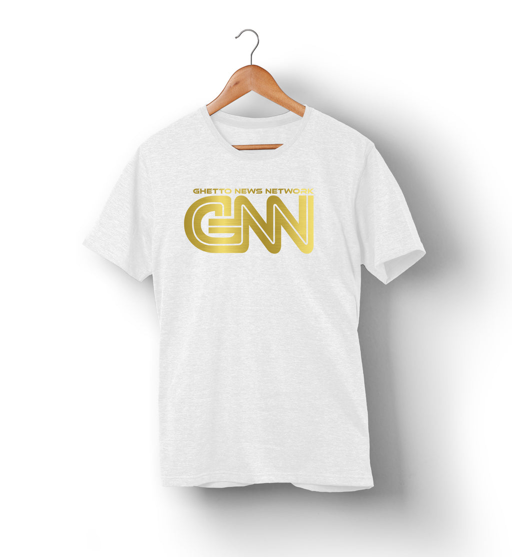 Ghetto News Network | GNN | T-Shirt White