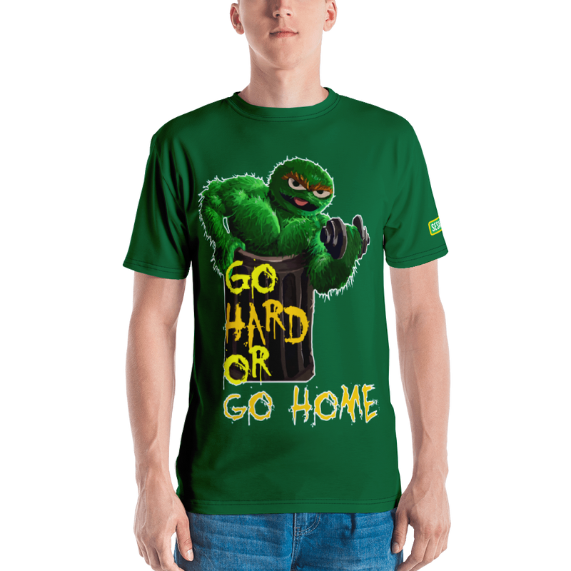 Shop and Buy Sesame Street Active Wear Oscar The Grouch Work Out Shirt