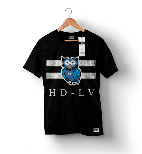 HDLV | Owl Logo Shirt - Black
