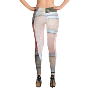 Wine Barrel Leggings for Women