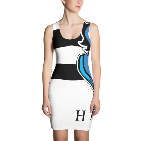 HDLV Stripe Dress For Women