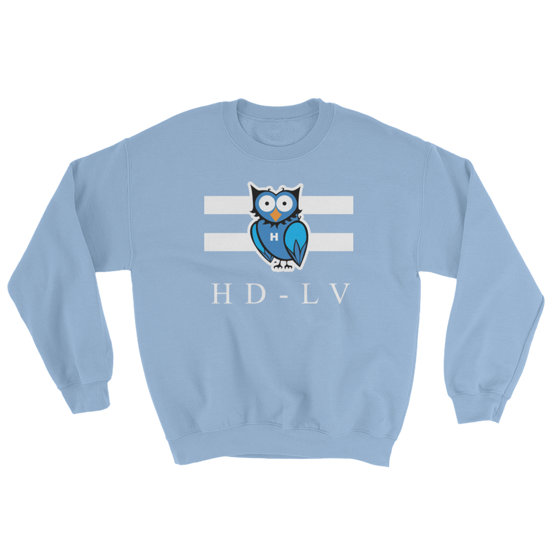 HD-LV Classic Crew Neck - Light Blue