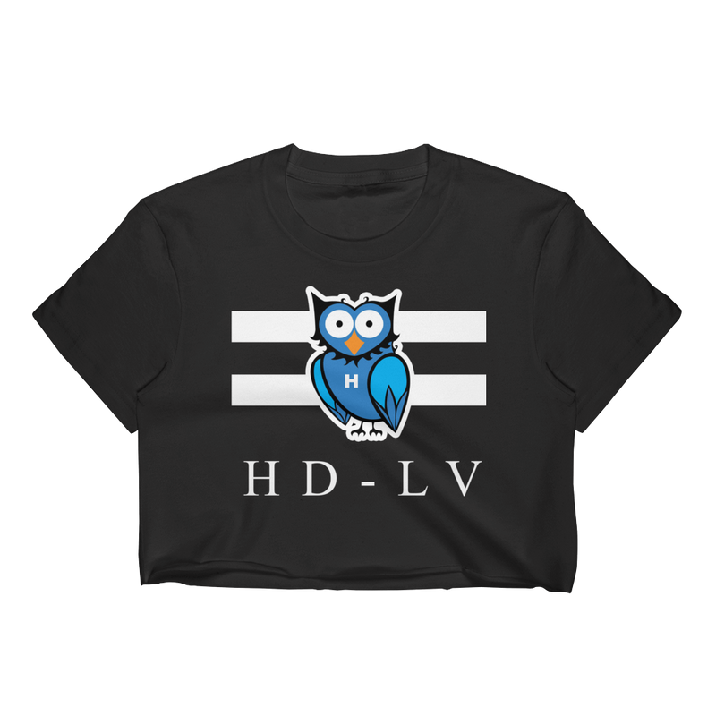 HD-LV - Black | Crop Top for Women