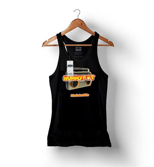 Hunnypot Radio - Black | Tank Tops for Women