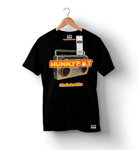 Hunnypot Radio - Black | Custom Shirts for Men