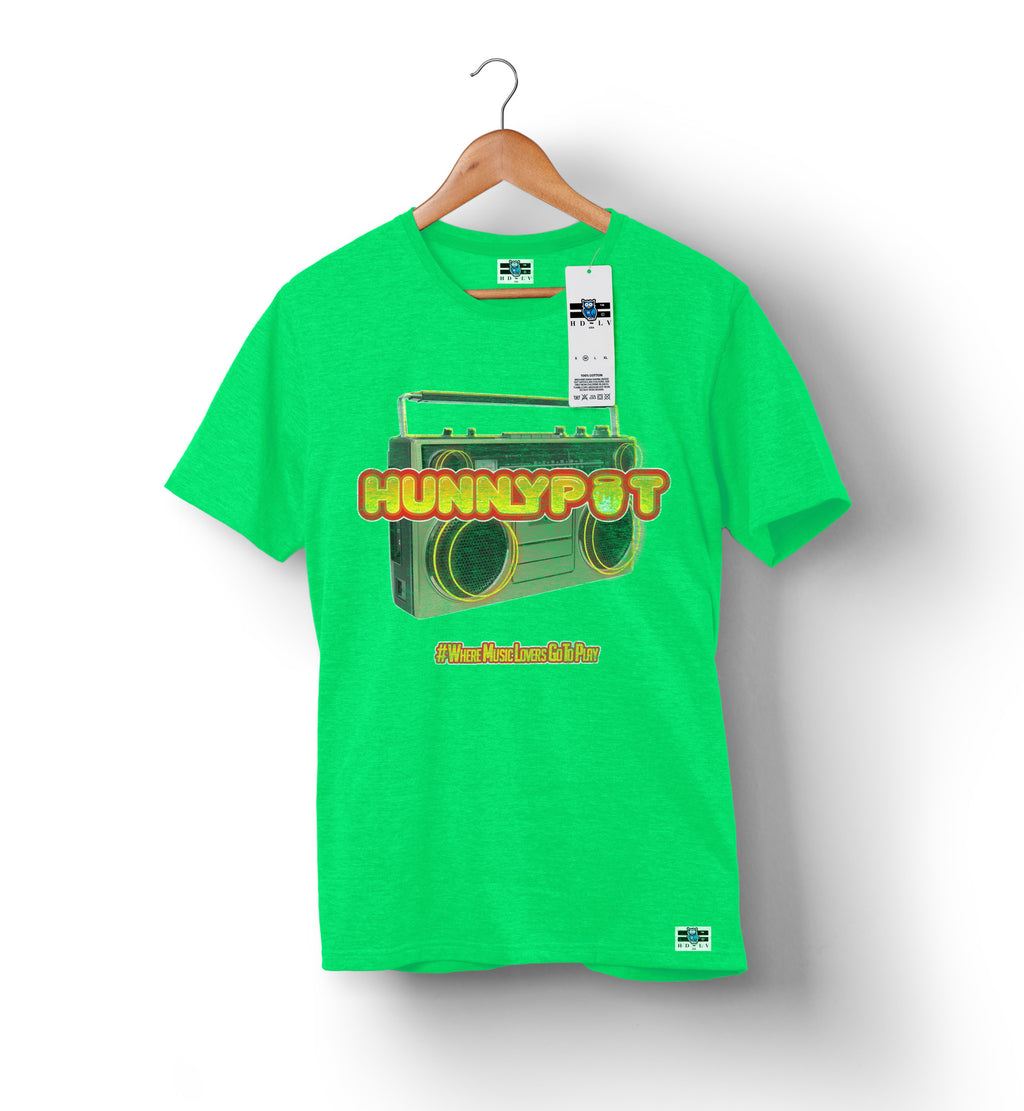 Hunnypot Live - Grass | Men's T-Shirt