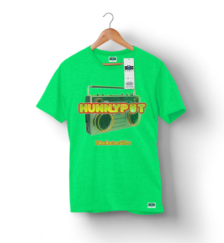 Hunnypot Radio - Grass | Custom Shirts for Men
