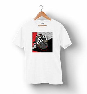 Karate Dog | Red, Black & Grey | T-Shirt