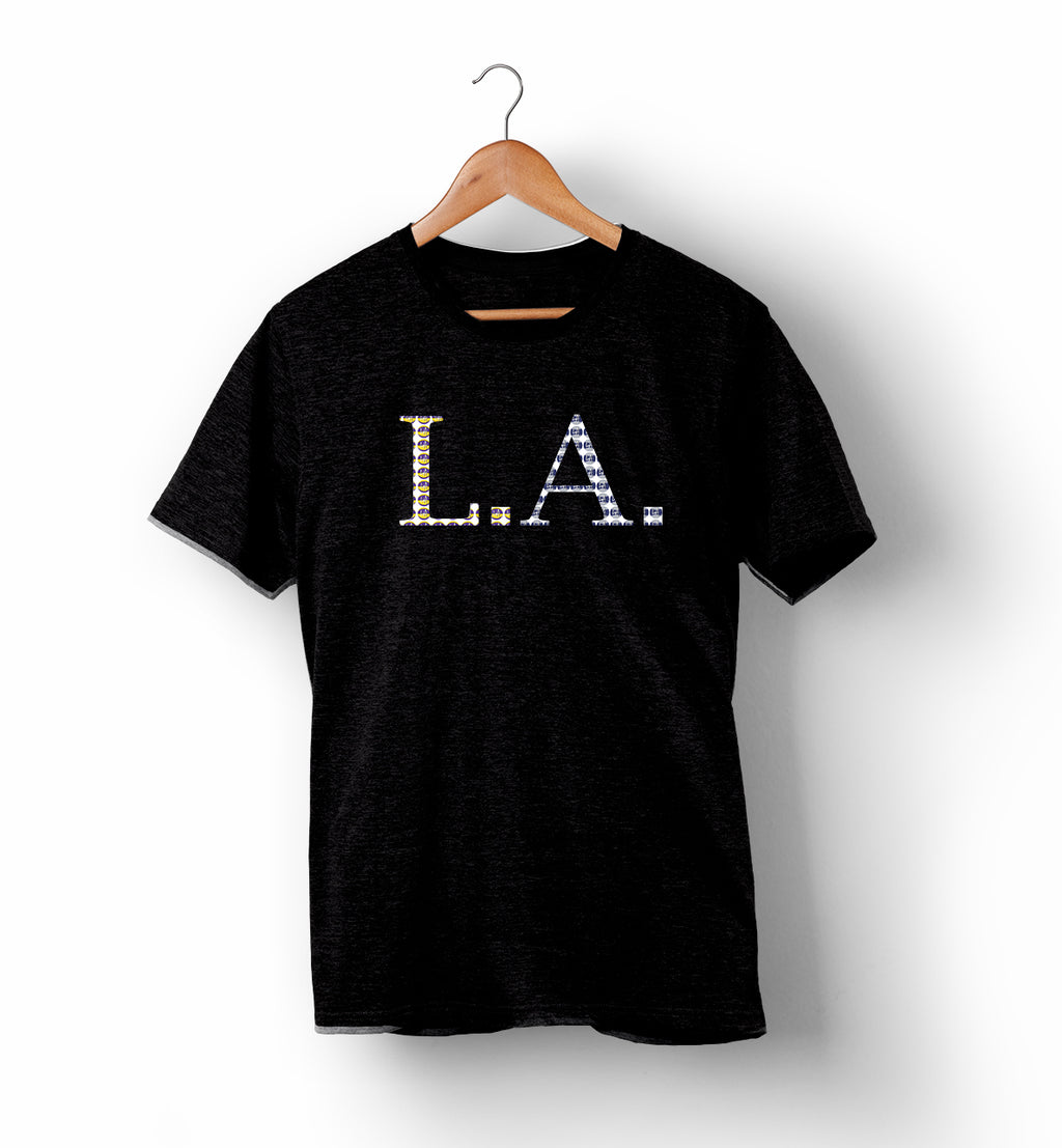 L.A. Pattern | Tee (Basketball and Baseball)