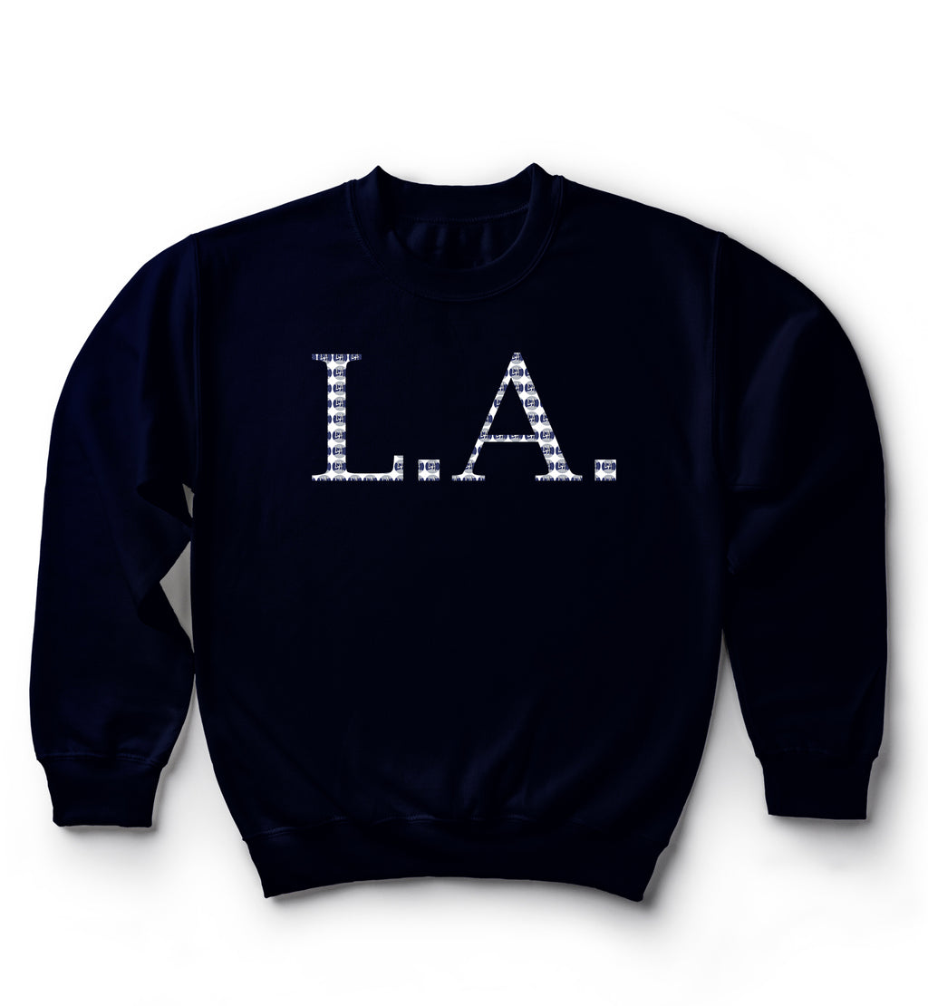 L.A. Baseball Pattern | Sweater