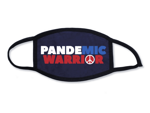 Maz Jobrani | Pandemic Warrior | Political | Cotton Mask