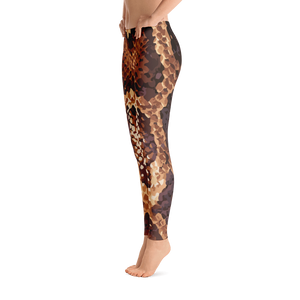 Modern Snakeskin Leggings