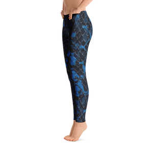 Electric Blue Viper Leggings