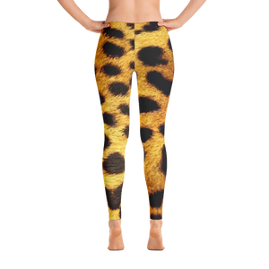 Gold Leopard Leggings
