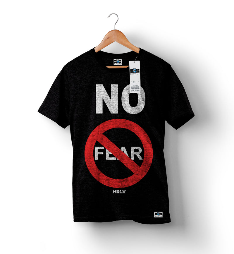 No Fear Black T-shirt