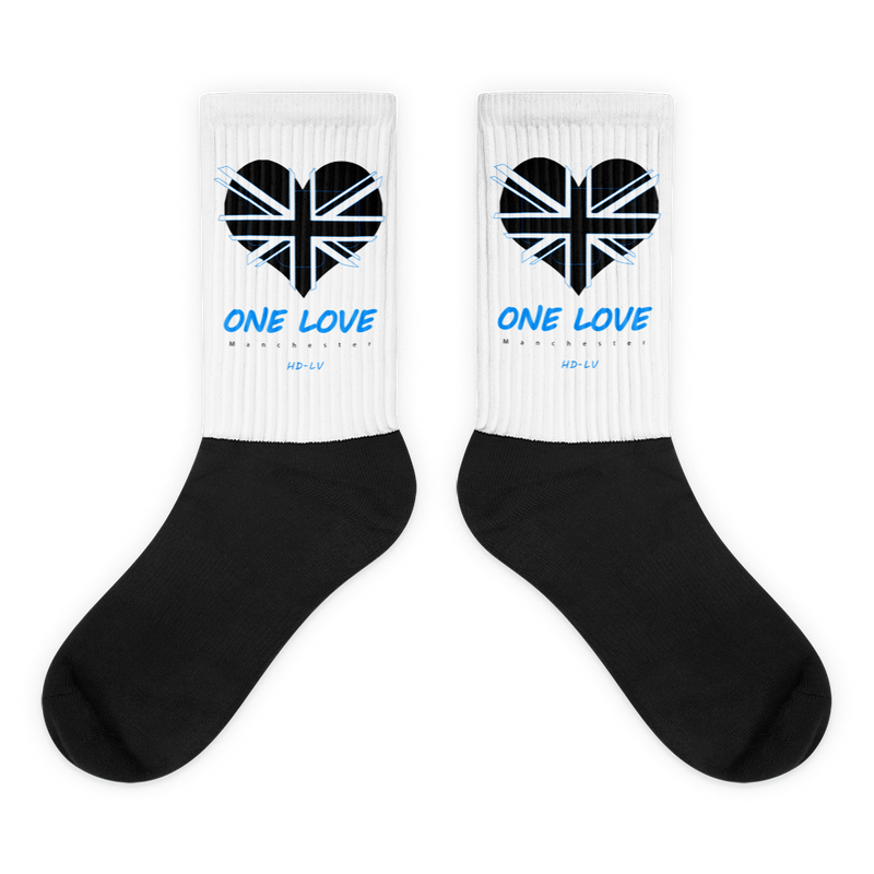 HDLV-USA One Love Manchester Socks