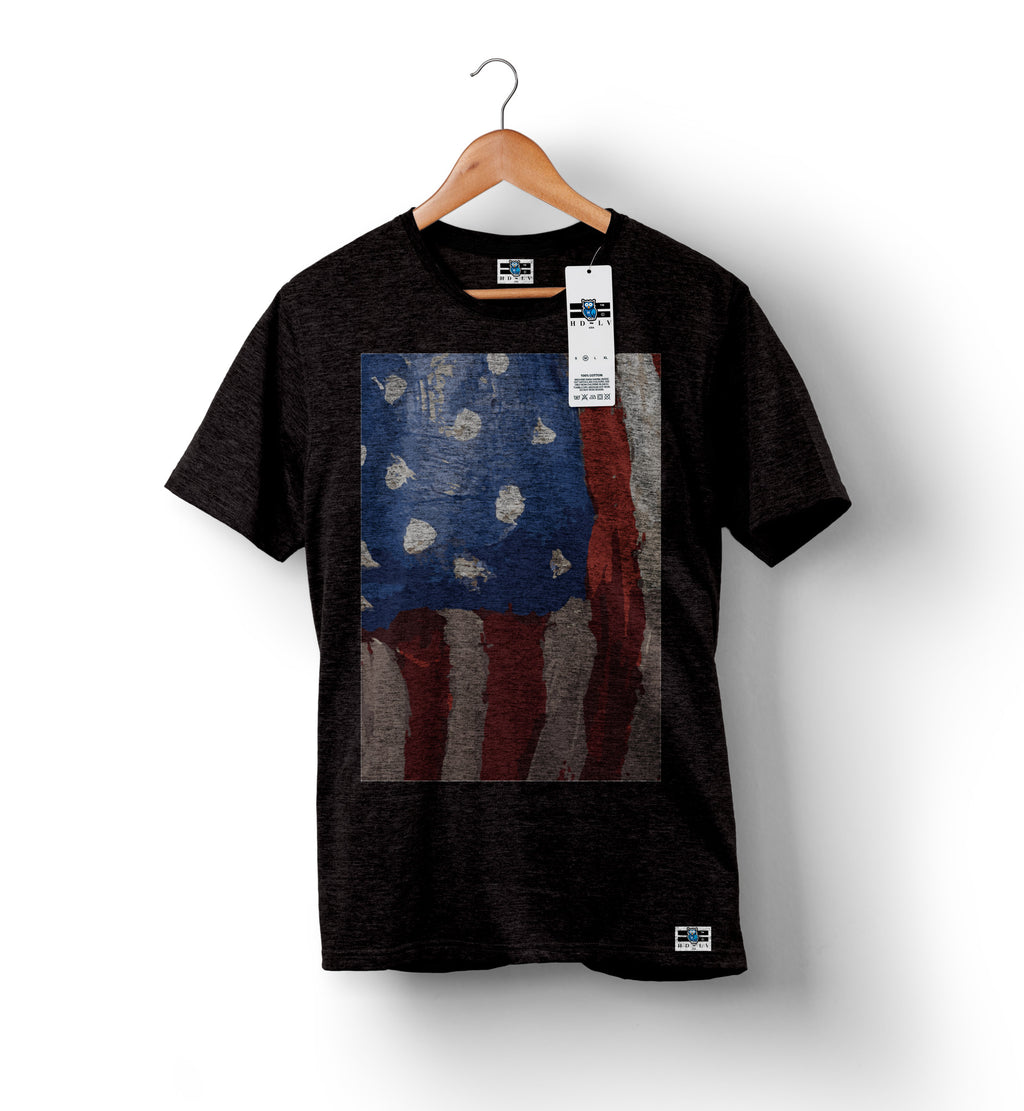American Flag - Charcoal | Custom Shirts for Men