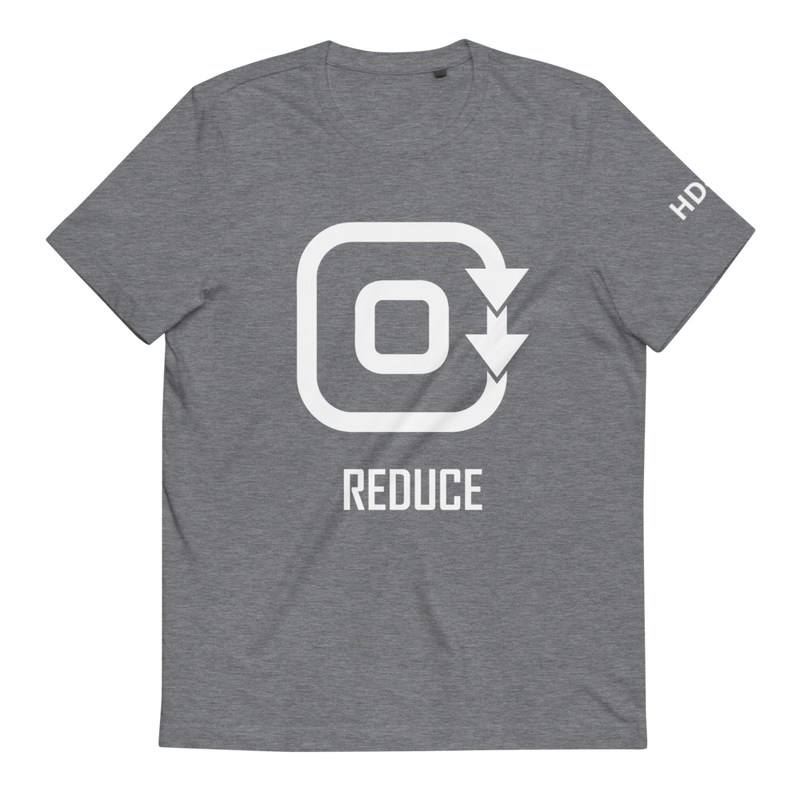 Organic Clothes | Reduce Shirt Grey for Men and Women