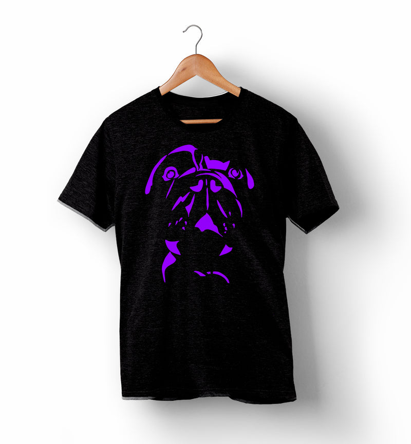RUFF | Black with Purple, Red, or Grey | T-Shirt