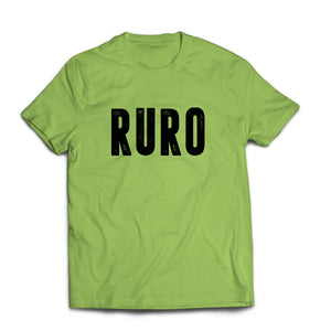 Reach Up reach Out | Ruro | Lime Green T-shirt