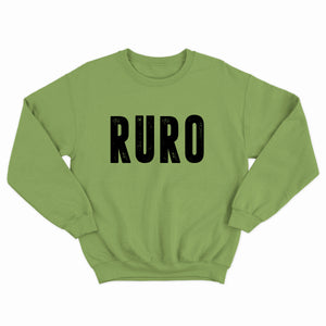 Reach Up Reach Out | Ruro | Lime Green Sweatshirt