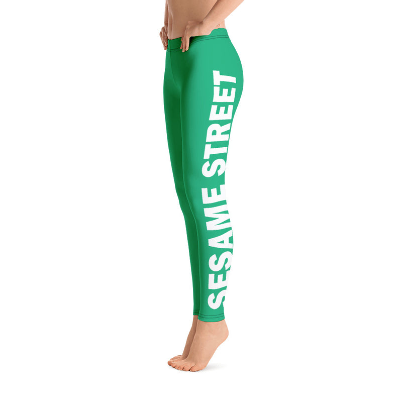 Sesame Street Sports Leggings for Women and Girls