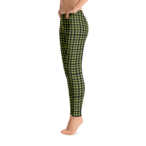 Shop and Buy Sesame Street Oscar The Grouch Emoji Leggings