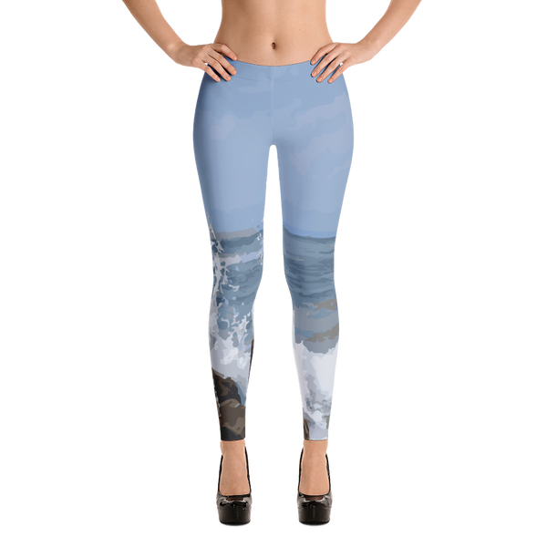 Ocean Rocks Leggings for Women
