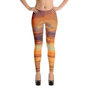 Sunset Leggings for Women