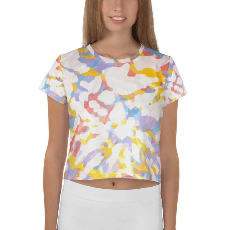 Tie Dye Crop Top for Women