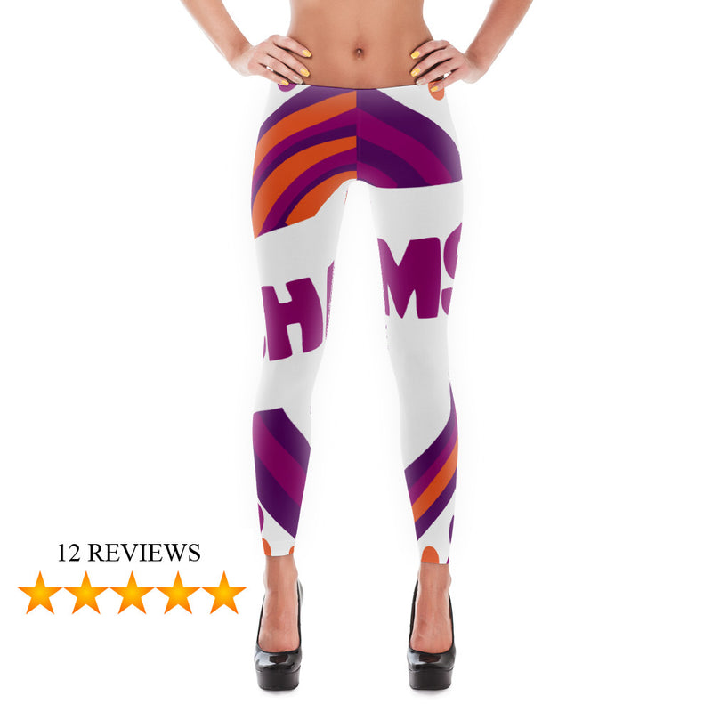 Charms Blow Pop Leggings for Women (Grape)